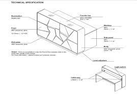 Pictures Of Reception Desks by Fryst Modern Reception Desk With Alternating Led Lighting Sku