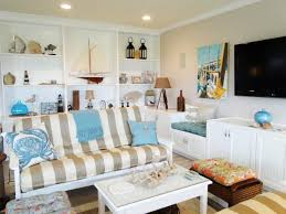 cottage decor living room sofas table and ornaments