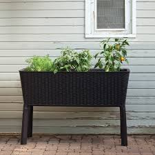 home design products keter raised bed garden kit costco home outdoor decoration