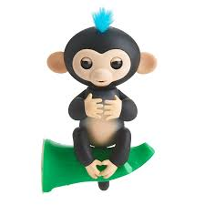fingerlings interactive baby monkey with exclusive stand finn