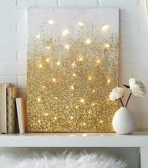 lighted canvas art with timer light up canvas wall art twinkly ways to light up your home with