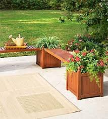 Eucalyptus Bench - eucalyptus bench planter furniture u0026 home design ideas