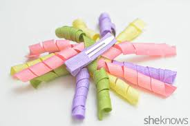 ribbon hair ties to make your own curly ribbon hair bows