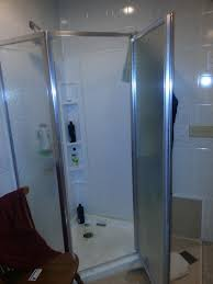 Diy Shower Door by Diy Shower Remodel Two Months Of Hard Work Countless Hours On
