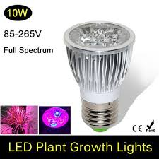 full spectrum led grow lights 10w e27 led grow lamp bulb for