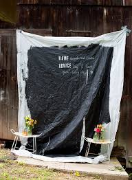 wedding backdrop chalkboard this diy chalkboard photo backdrop doubles as a guestbook