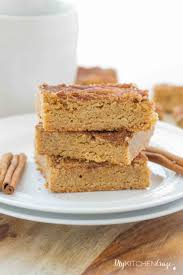 cinnamon brown sugar bars my kitchen craze