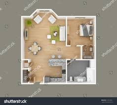 floor plan 3d floor plan 3d illustration stock illustration 516972811 shutterstock