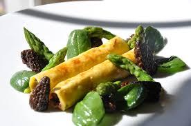 cuisiner les morilles fraiches les cannellonis de boeuf aux asperges vertes et morilles
