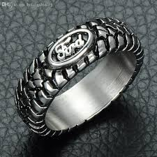 car rings images 2018 cwfy punk ford car tire tread style grooved ring vintage jpg