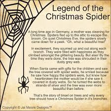 legend of the spider for anyone who has seen my