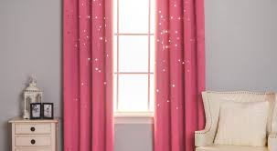 Pink Ruffle Blackout Curtains Mench Roman Shades Fabric Tags Roman Curtains Pink And Blue