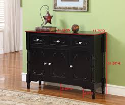 amazon com king u0027s brand r1121 wood console sideboard table with