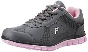 light shoes for women fila women s daffle grey and light pink running shoes 7 uk india