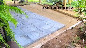Patio Pavers Diy Patio Paver Diy Ask The Builderask The Builder