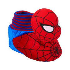marvel comics toddler boys spiderman slippers sock top character