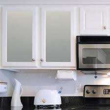 white frosted glass kitchen cabinet doors ideas for decorating glass cabinets in the kitchen dengarden