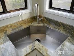 corner sinks for kitchen corner kitchen sinks corner single bowl custom stainless steel