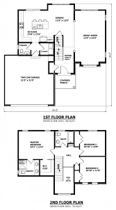 modern two story house plans double storey floor king of the hill