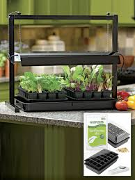 Kitchen Grow Lights Small Grow Lights And Tabletop Garden Starter Kit