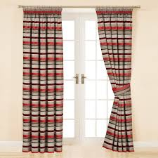 Curtain Colors For White Walls by Decorating Black And White Horizontal Striped Curtains With Grey