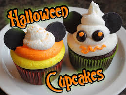 disney halloween cupcakes candy corn and mickey mouse ghost youtube