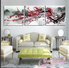 3 pieces canvas print wall art painting for living room art