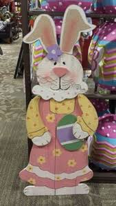 Cute Easter Outdoor Decorations by Bunnies Would Be So Cute In The Flower Beds Peeking Out Craft