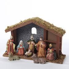 wooden nativity set kurt adler 11in wooden nativity set 9 n1000 house of