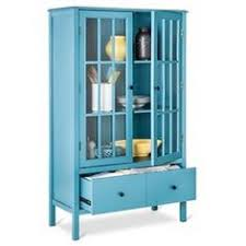 tall cabinet with glass doors hutch for dinnerware glasses platters threshold windham tall