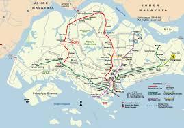 Map Of Singapore Historical Metro Maps Of Singapore Johomaps