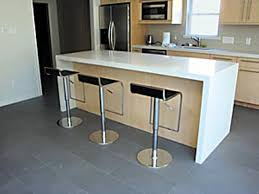 kitchen countertops to update a kitchen and house new orleans photo courtesy of labruyere stone a white quartz waterfall countertop offers a sleek modern