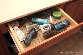 bathroom drawer organizers bathroom drawer dividers work well for