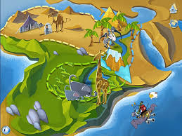africa map review ansel and clair s adventures in africa review for teachers