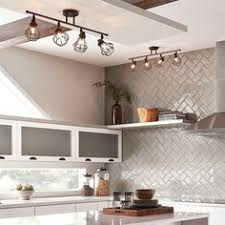 kitchens lighting ideas shop kichler lighting bayley 4 light olde bronze fixed track light