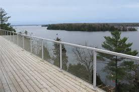 gallery peak aluminum railing