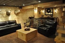 rustic basement ideas finished basements
