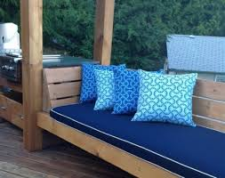 patio bench cushions home design ideas and pictures