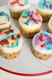 watercolor cupcakes inspired