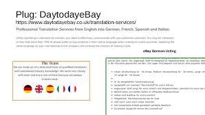 Comfort Spanish Translation Cross Border Trade With Ebay