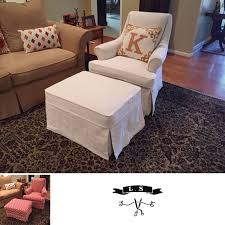 Slipcover Chair And Ottoman 92 Best Tailored Skirt Images On Pinterest Slipcovers Cords And