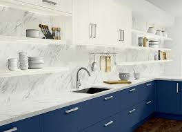 blue base kitchen cabinets wilsonart laminate counters cabinet doors kitchen floor