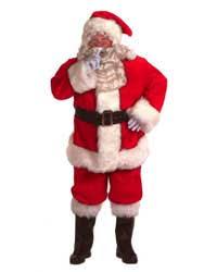 santa costume professional santa suit costume santasuitexpress