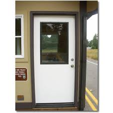 Window Inserts For Exterior Doors Oversized Doors Exterior Weatherproof Fiberglass Door With Glass