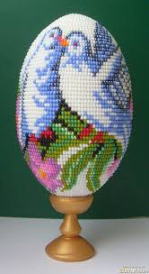 Decorating Easter Eggs With Beads by 304 Best Easter Eggs Beaded Images On Pinterest Easter Eggs Egg