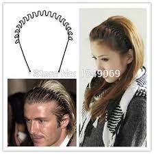 pop bands hair beckham favorite hair bands hair wavy men fluffy hairband headband