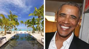 Obama Necker Island Barack Obama Visits Marlon Brando U0027s Private Polynesian Resort At