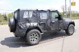 jeep wrangler back new 2018 jl wrangler design details emerge sloped rear