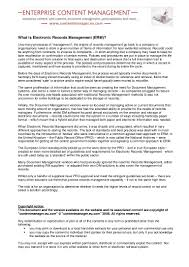 Health Information Management Resume Records Management Resume Contegri Com