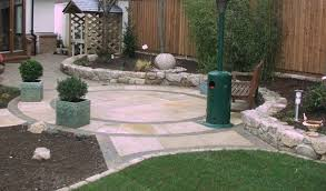 how to design a newcastle garden or north east patio total